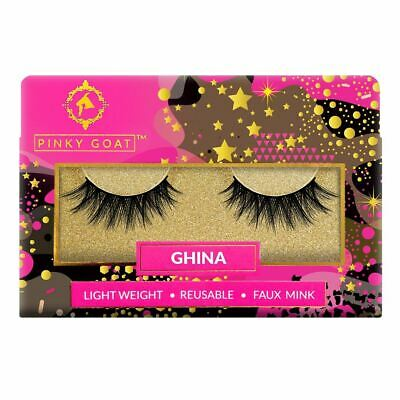 Pinky Goat False Eyelashes - Ghina