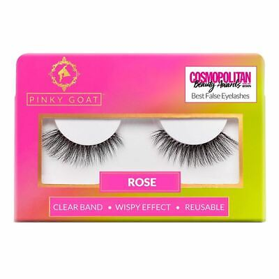 Pinky Goat False Eyelashes - Rose