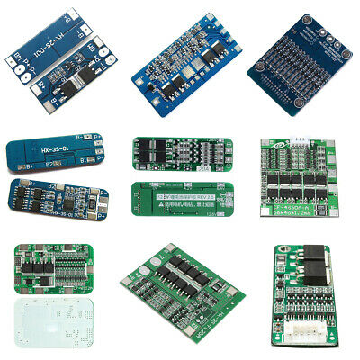2S/3S/4S/6S BMS PCB Protection Board For 18650 Li-ion Lithium Battery Cell US