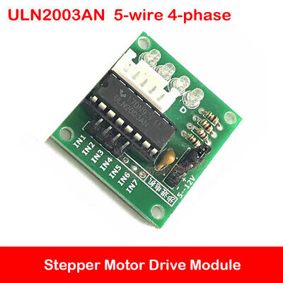 Stepper Motor Drive Board For 5-wire 4-phase Stepper Motor Module Test ULN2003AN