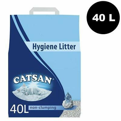 Catsan Hygiene Cat Litter 40 Litres With Odour Protection 2 x 20L
