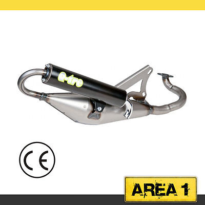 Sports Exhaust Gilera DNA 50, Easy Moving, Ice, Tecnigas Q-Tre