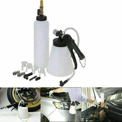 1L Pneumatic Brake Fluid Bleeder Kit Car Air Extractor Clutch Oil Bleeding