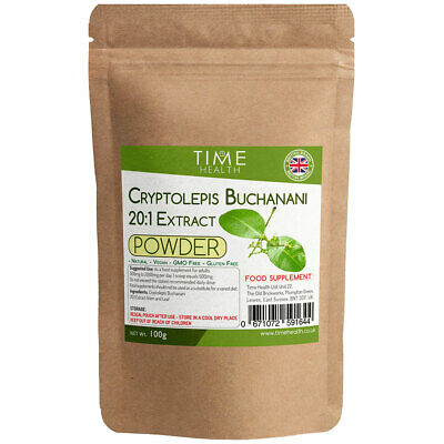Cryptolepis Buchanani Powder 20:1 Extract – Full Spectrum Stem and Leaf