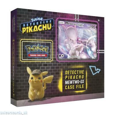 Pokemon TCG: Detective Pikachu Mewtwo GX Case File :: Brand New And Sealed!