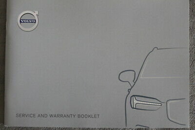 "VOLVO - Service- and Warranty Booklet ""Mj. 2019""  Whithout entries - Serviceheft"
