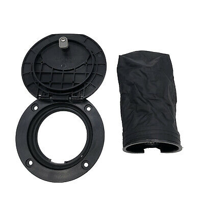 4 Inch Hatch Cover Deck Plate Kit With Black Storage Bag For Marine Boat Kayak