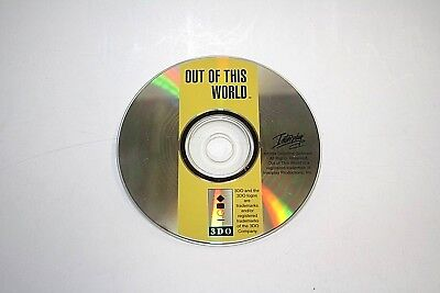Out of This World (3DO Interplay 1994) CD Only