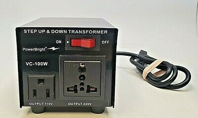 Powerbright - Step Up & Down Transformer - Vc-100W