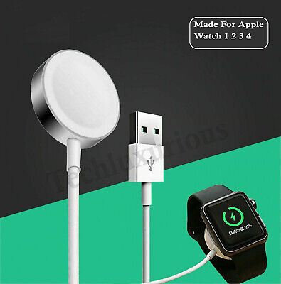 For Apple Watch Charger iWatch Magnetic Charging Cable 38mm 42mm Dock 1 2 3 4