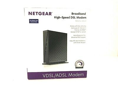 NETGEAR DM200-100NAS BROADBAND High-Speed DSL Modem VDSL