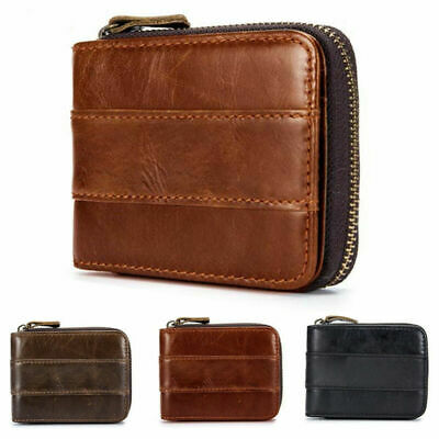 CHALLENGE COIN HOLDER Leather Wallet Case Double ID Credit Card