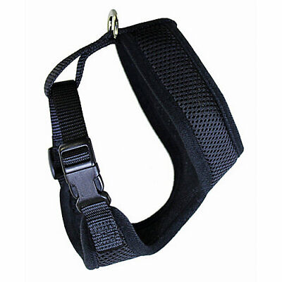 Weaver Leather Adjustable Mesh Chicken Harness X-Small Black