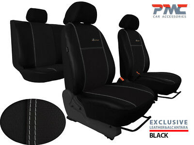 """DACIA DUSTER MK2 2017 ONWARDS ECO LEATHER /""""Exclusive/"""" TAILORED SEAT COVERS"""