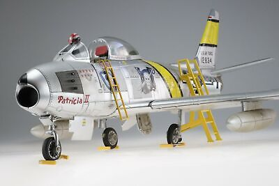 1/18 Admiral 21st Century Toys F-86 Sabre Pro Built + Painted + Accessories!