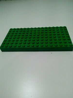 LEGO THICK GREEN BASEPLATE 10X20 PIN