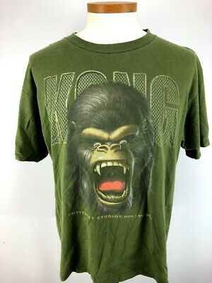 King Kong Universal Studios Hollywood Graphic T Shirt Adult Large