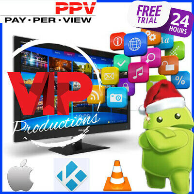 12 MONTHS IPTV Subscription +3000Ch HD +2800VOD For ALL