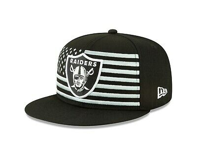 more photos 33424 f6afc Oakland Raiders New Era 2019 NFL Draft On-Stage Snapback 9Fifty Hat -Black