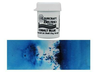 Brusho By Colourcraft Bru85148  Brusho Crystal Color 15Gr Cobalt Blue