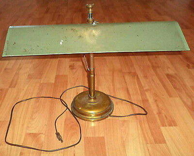 Vintage Table Lamp Industrial Machine Age Articulating Work Drafting Fluorescent