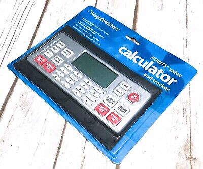 New | Weight Watchers WW Points Value Four-Function Calculator Tracker - Sealed