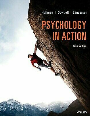 Psychology in Action By Karen Huffman 12th Edition (P D F)
