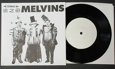 "The MELVINS Outtakes From 1st 7"" 1986 NOISE 45 Nirvana BUZZ Crover LUKIN Minty!"