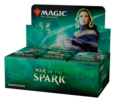 NEW War of the Spark Factory SEALED, MTG Magic, Booster Box, 36 Packs x1
