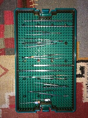 Microsurgical Instrument Tray MicroPak w/ Assorted Instruments - Riley Medical