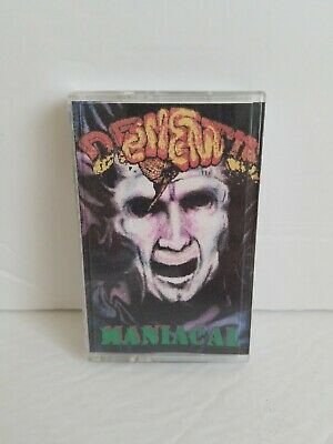 DEMENTIA Maniacal  Cassette Tape 1996 Brain Rotting Records * Very Rare