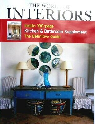 The World Of Interiors Magazine Issue May 2019  ~ New ~