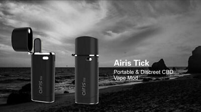 Authentic Airis Tick Kit BLACK Built-in 650mah Battery Free Shipping US seller