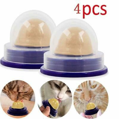 4 Pcs Cat Sugar Solid Catnip Sugar Cat Nutrition Cream Licking Solid Candy Toy