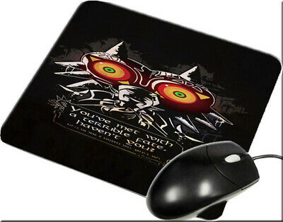 The Legend Of Zelda Majora's Mask Quote Mousepad New Ac37 Mouse Mats