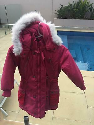 Vintage Guess girl's pink coat size 4-5 in excellent condition