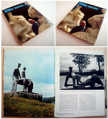 1972 FINE Sculpture HENRY MOORE Original LITHOGRAPH French ART BOOK XXe SIECLE