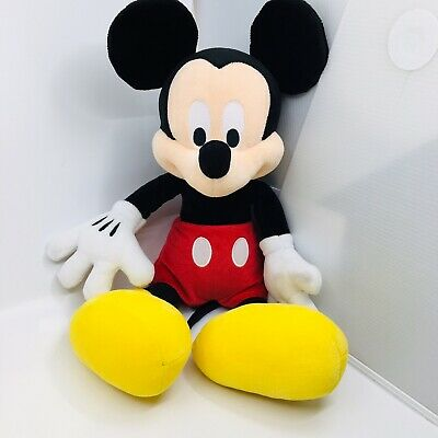 Disney Parks Mickey  Mouse Plush Doll 18 inch  Stuffed Toy Authentic Original