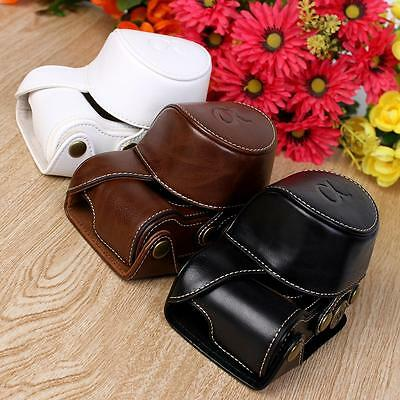 Fashion PU leather Camera Bag Case Cover Pouch For Sony A5000 A5100 NEX 3N