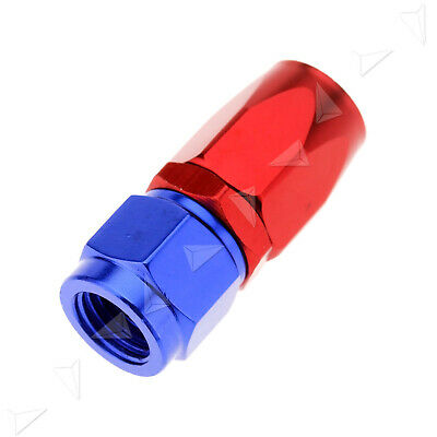 AN4 -AN AN-4 Straight Swivel Oil Fuel Line Gas Hose End Fitting Adapter