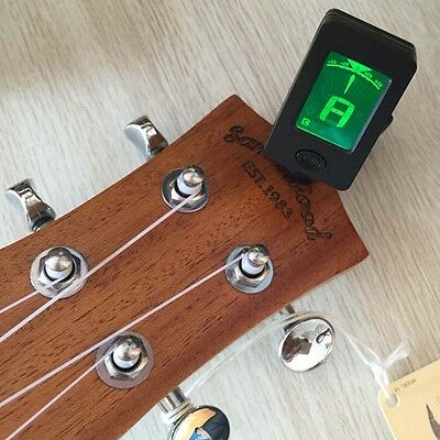 LCD Clip-On Electronic Digital Guitar Chromatic Bass Violin Ukulele Tuner New