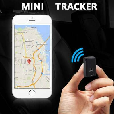 Magnetic Mini Car GPS Tracker Real Time Tracking Locator Device Voice Record CA