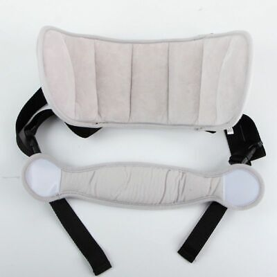 Child Head Support Travel Neck Holding Pillow Stroller Soft Sleep Safe Cover