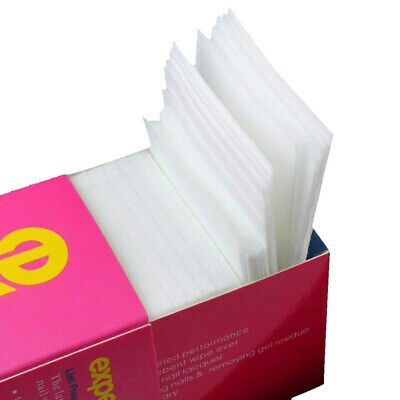 325 Pcs Nail Wipes Lint Free Cotton Pads to Remove Nail Gel,Nonwovens Cotto N1Z5