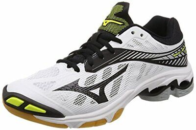 4122a8a07cbf [Mizuno] volleyball shoes Wave Lightning Z4 (the current model) white ×  black