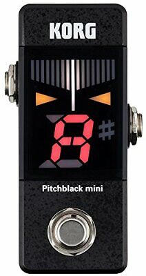 KORG small pedal tuner Pitchblack mini pitch black mini PB-MINI