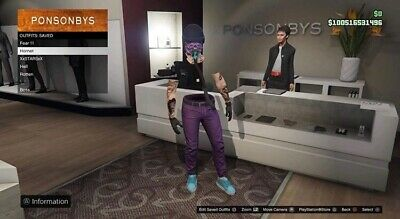 PS4 GTA 5 Grinders Paradise Pro Starter Account Worth $560M