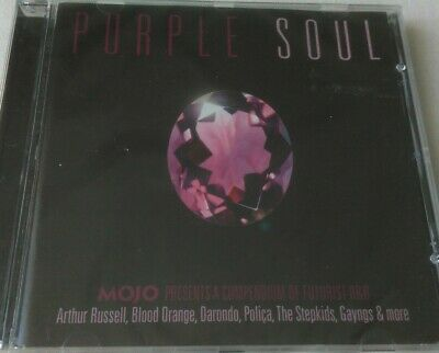 MOJO - PURPLE SOUL - FUTURIST R&B (CD ALBUM) Arthur Russell Blood Orange Polica