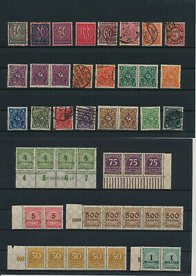 Germany, Deutsches Reich, Nazi, liquidation collection, stamps, Lot,used (CP 22)