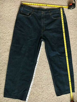 Mens Size 42x30, hemmed 42x28 Kirkland Signature Relaxed Fit Jeans, Model 989796